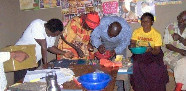 Kassen gøres op MAPLE – Uganda