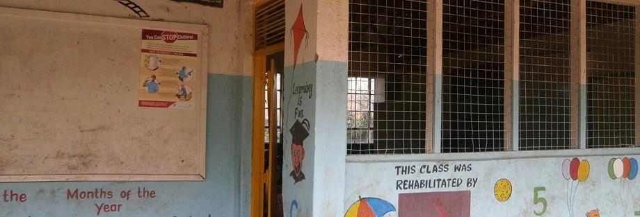 Indgang til børnehaveklassen – Kawangware