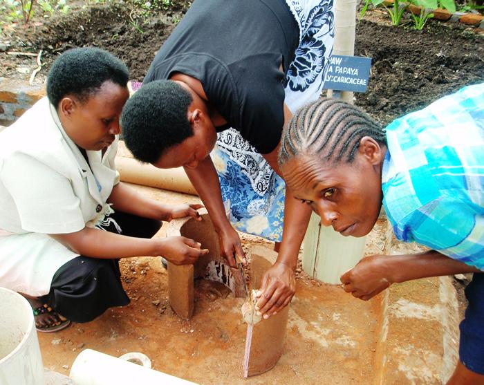 Komfurprojekt Tanzania