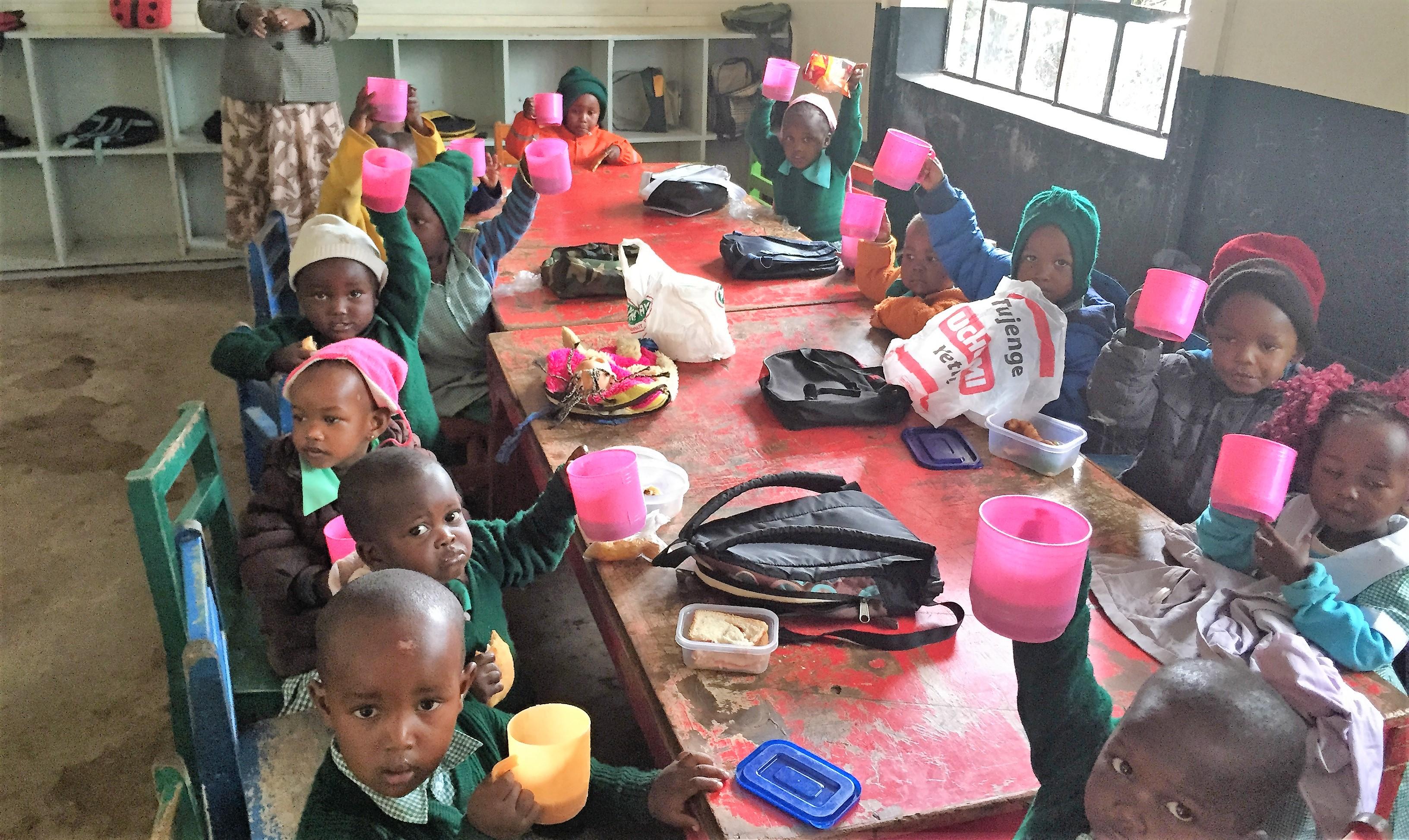 Frokost for de mindste - Jambo Shule